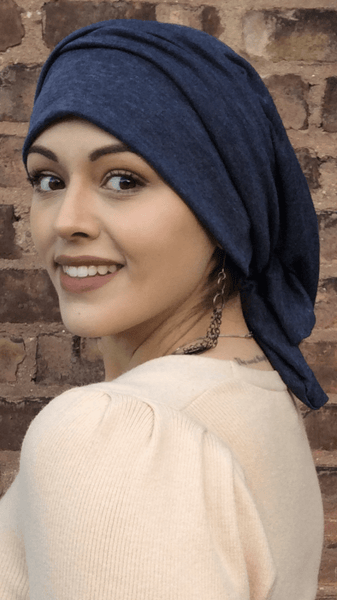 Comfort Clothing Tie Up Hair Wrap Around Head Wrap Snood Tichel Hijab For Hair Wrapping - Uptown Girl Headwear