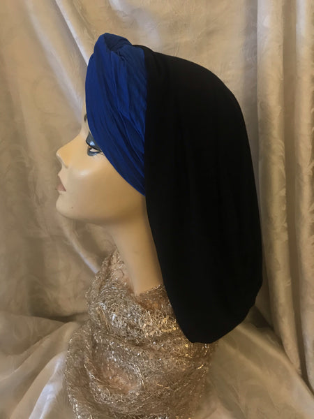Snood Turban Hijab Renaissance Style Clothing Made in USA by Uptown Girl Headwear - Uptown Girl Headwear