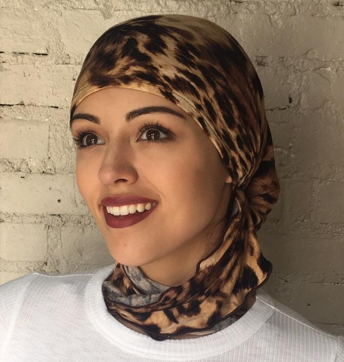New Easy Slip On Style Pre Tied Headwear Hair Wrap Modern Hijab Gift Idea - Uptown Girl Headwear
