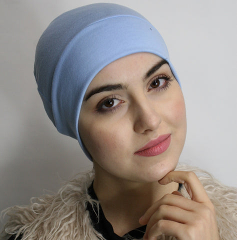 Cotton or Jersey Knit Unisex Chemo Sleep Cap - Uptown Girl Headwear