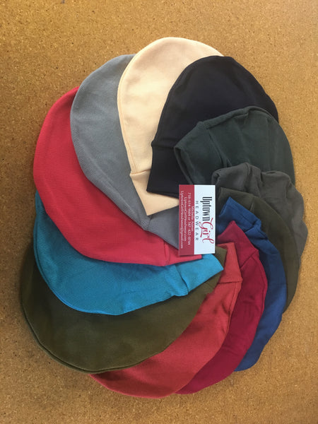 Boyfriend Girlfriend Gift Premium Running Hats Head Warmers Ribbed Comfy Caps For Men & Women. Made in USA - Uptown Girl Headwear