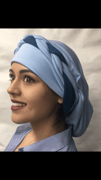 Uptown Girl Headwear 10 way Tie Wrap Around Head Scarf
