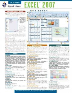 Excel 2007: Rea Quick Access reference Chart