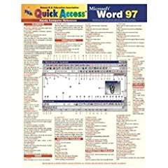 Microsoft Word 97 Quick Access