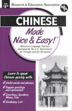 Chinese Made Nice & Easy!