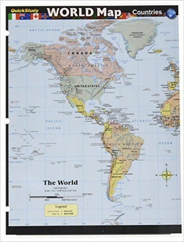 World Map Countries Guide