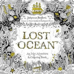 Lost Ocean Adult Coloring Book: An Underwater Adventure & Coloring Book