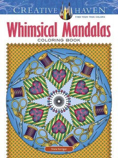 Creative Haven Whimsical Mandalas Coloring Book - Adult