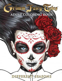 Grimm Fairy Tales Adult Coloring Book: Different Seasons