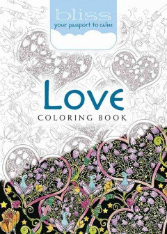 Love Coloring Book: Your Passport to Calm - Adult