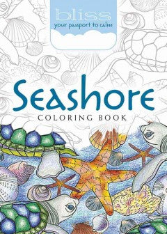 Seashore Coloring Book: Your Passport to Calm - Adult