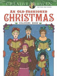 An Old-Fashioned Christmas Coloring Book