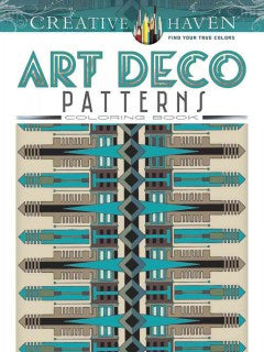 Art Deco Patterns Coloring Book - Adult