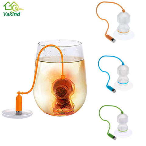 Deep Coffee Tea Infusers Loose Leaf Strainer Bag Mug Filter