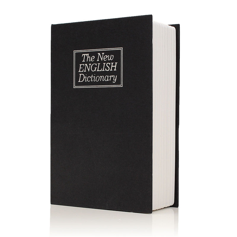 Dictionary Book Secret Hidden Security Safe -  Key, Lock