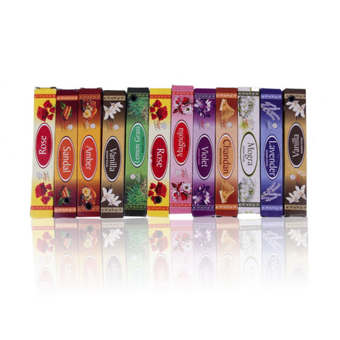 Mix 10 Indian Incense Sticks