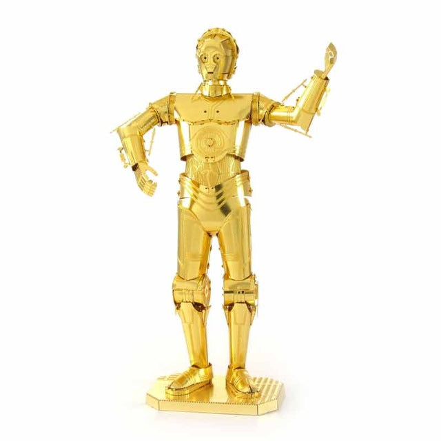 3D Metal Puzzles model Star Wars C3PO
