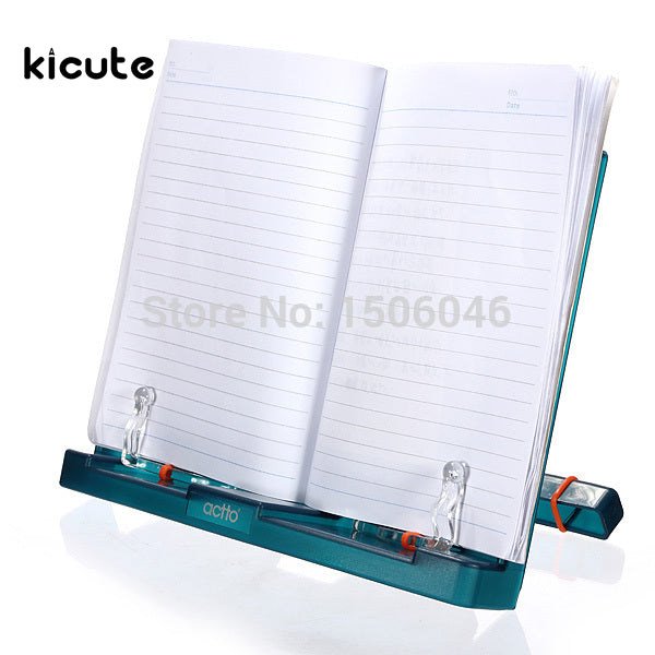 Adjustable Portable Document Book Stand Holder Reading Rrame Desk Holder Tilt Bookstand