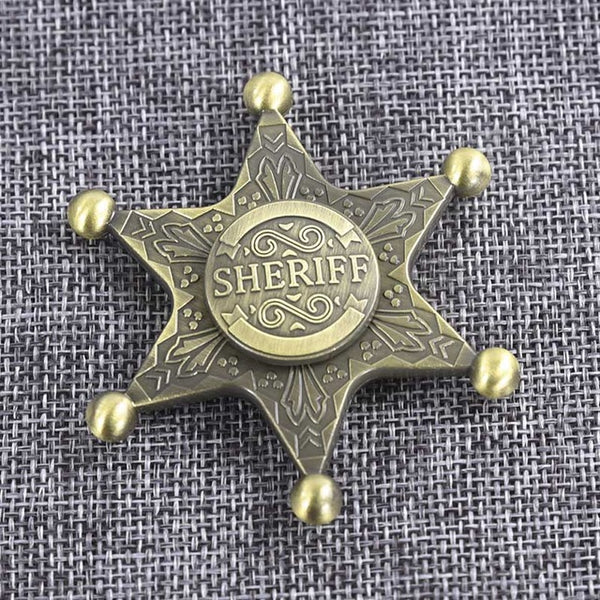 Sheriff's Badge Fidget Spinner