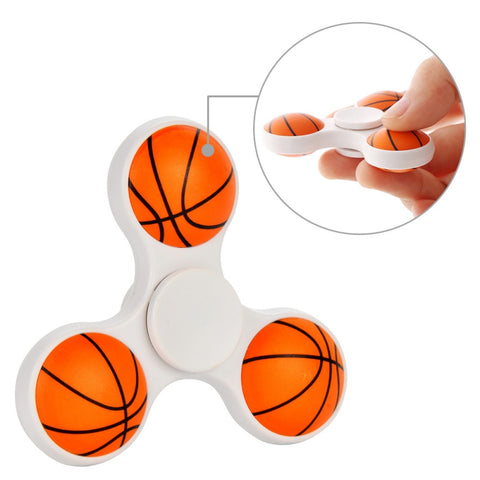 Ball Tri-Spinner Finger Fidget Spinner