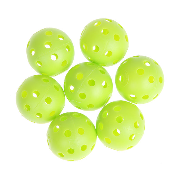 Green/ white  Golf Practice Plastic Whiffle Airflow