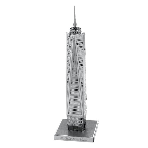 3D Metal Jigsaw World Trade Center