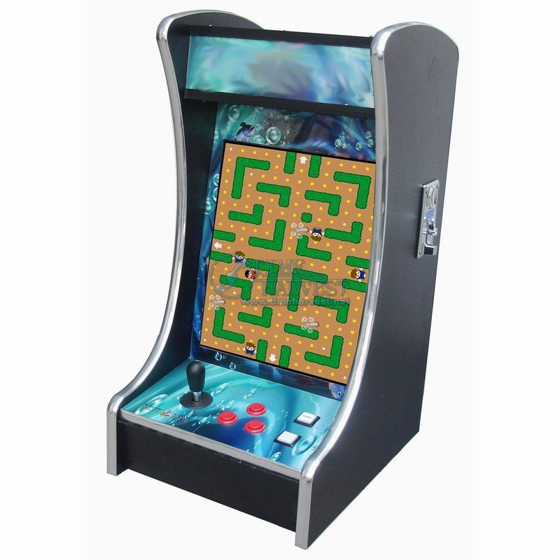 19 Inch LCD Desk Arcade Game/Mini LCD verticle table cabinet