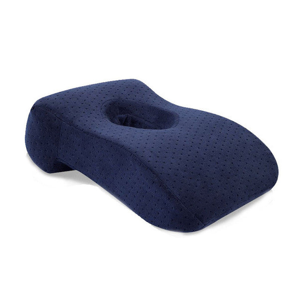desk break pillow slow rebound table pillow with a hole