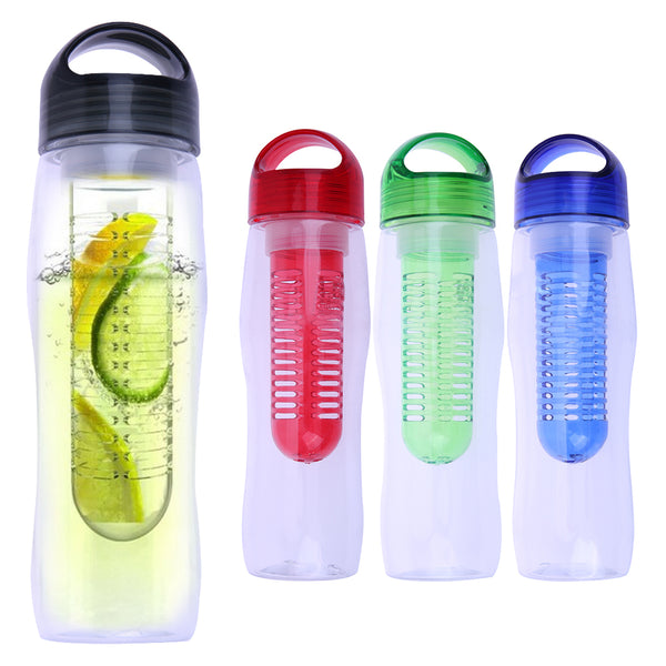 720ml Portable Water Bottle Lemon Juicer with Tea Strainer Juicing Bottle