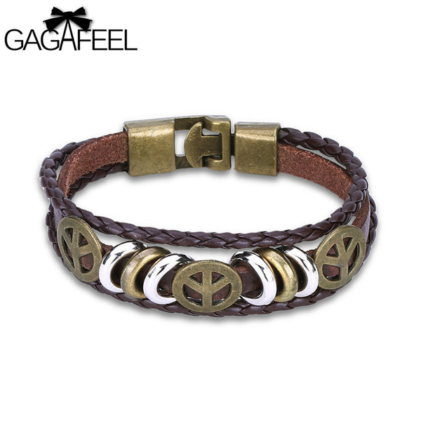 Multilayer Warp Bangle Bracelet