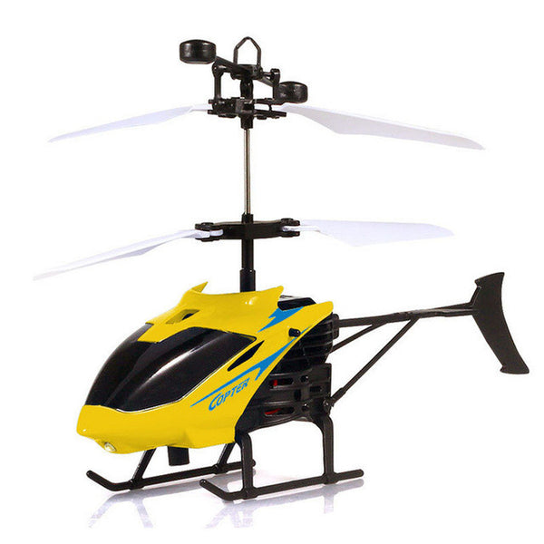 RC Drone Flying Mini RC Infraed Induction Helicopter Aircraft Flashing Light
