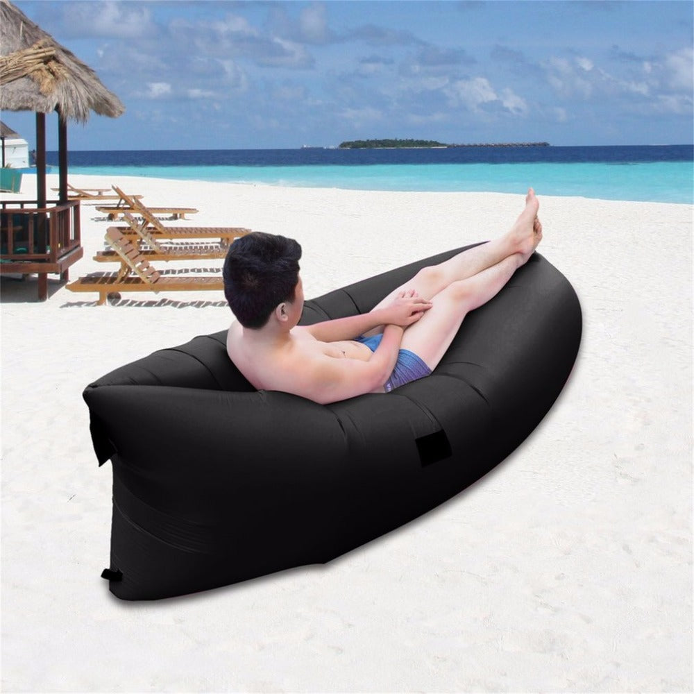 Ultra-light Outdoor Inflatable Lounger Bag