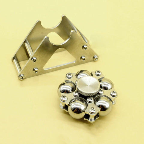 Fidget Spinner Metal Steel Balls Bearing with metal stand