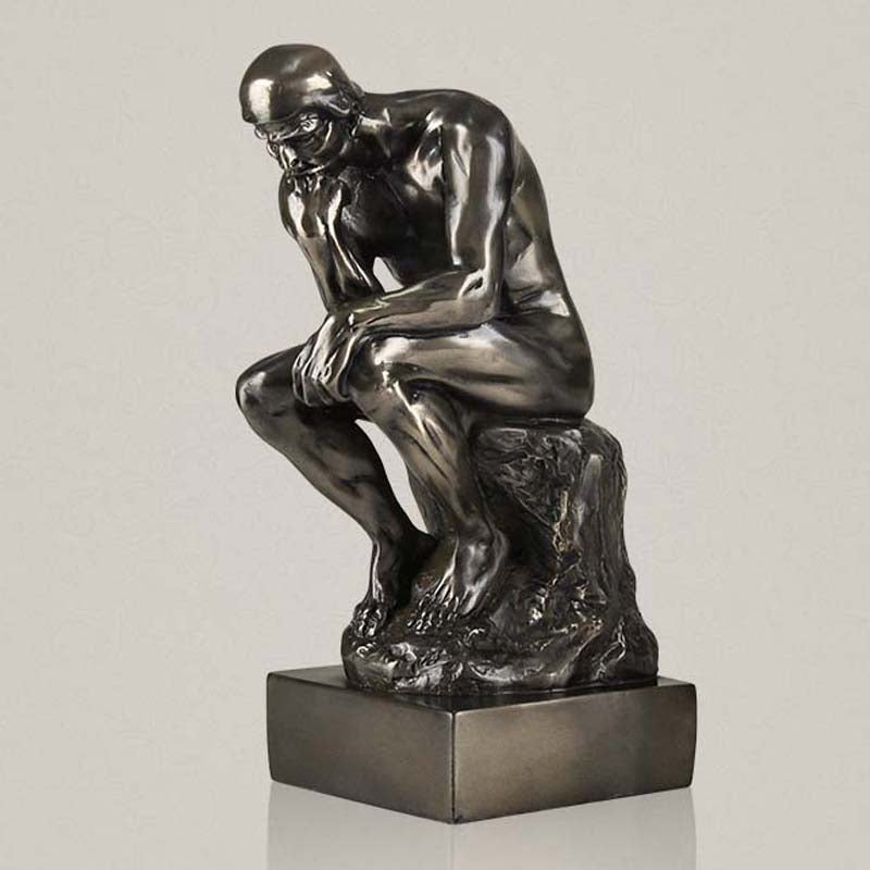 Meditation Thinker  decorative figure sculpture