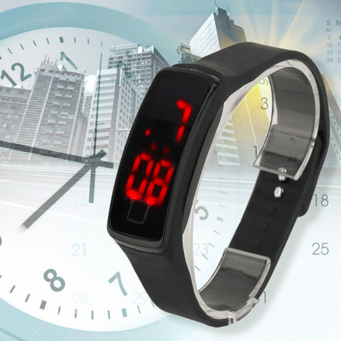 LED Touch Super Lightweight Sport Running Digital Smart Bracelet