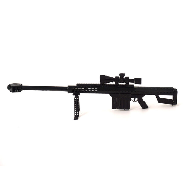 3D Metal Jigsaw Barrett sniper rifle