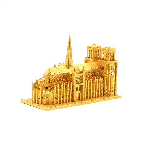 3D Metal Puzzles model Jigsaw Notre Dame de Paris