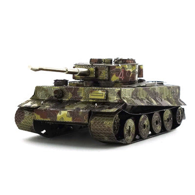 3D Metal Jigsaw puzzle Tiger tanks C 3d metal puzzle