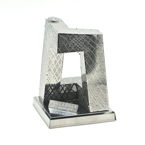 3D Metal Jigsaw Chinese China CCTV Tower