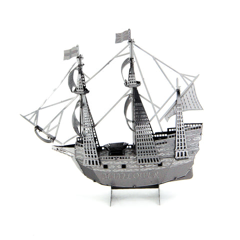 3D Metal Puzzles model Jigsaw Mayflower vessel