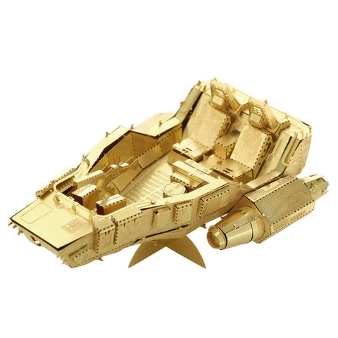 3D Metal Puzzles model Jigsaw Star wars Specia Snowspeeder