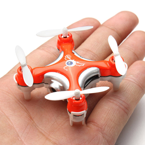 Mini Drone RC helicopter Cheerson CX-10C Mini 2.4G 4CH 6 Axis LED RC Quadcopter with Camera