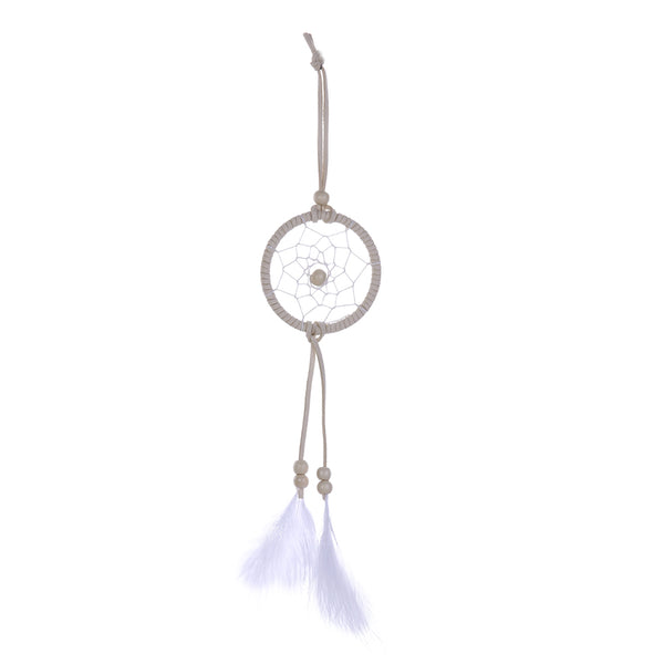 White Feather Dream Catcher Handmade