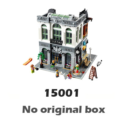 Creator Expert Brick Bank Modular Building series Compatible With Lego