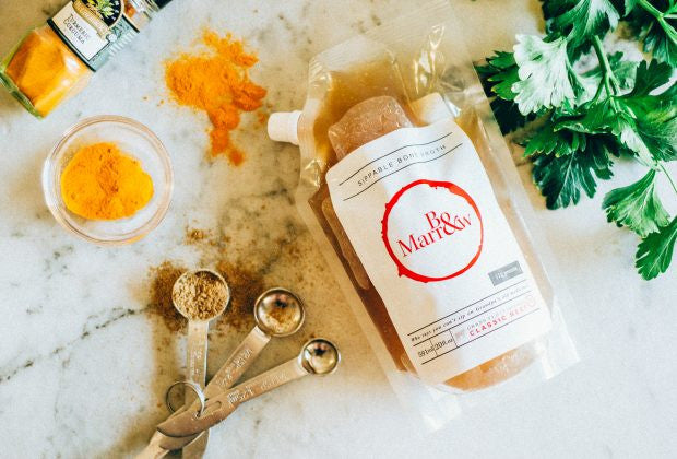 TNW × Bo And Marrow: Fall Bone Broth & Tumeric Soup