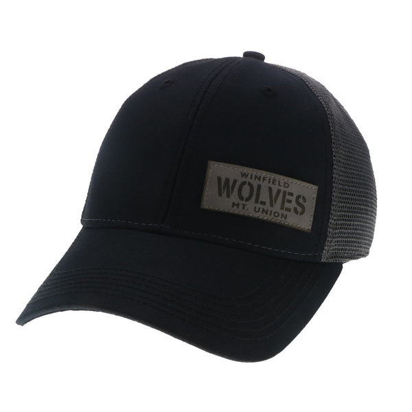 WMU Leather Patch Legacy Hat