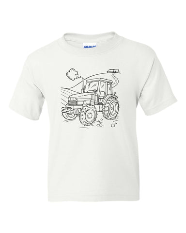 Tractor Color Shirt Kit