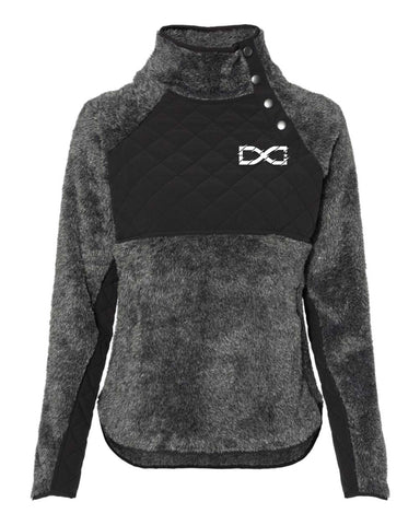 DC 2020 Ladies Fuzzy Quilted 1/4 Snap