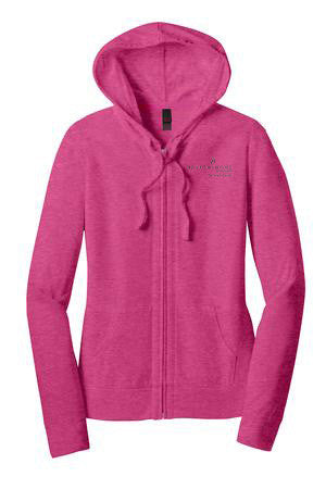 Hearth & Home Juniors Jersey Full Zip Hoodie