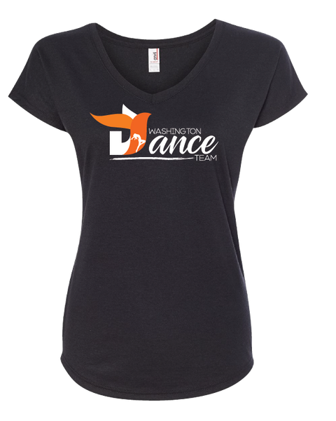 Washington Dance Team Ladies VNeck TShirt